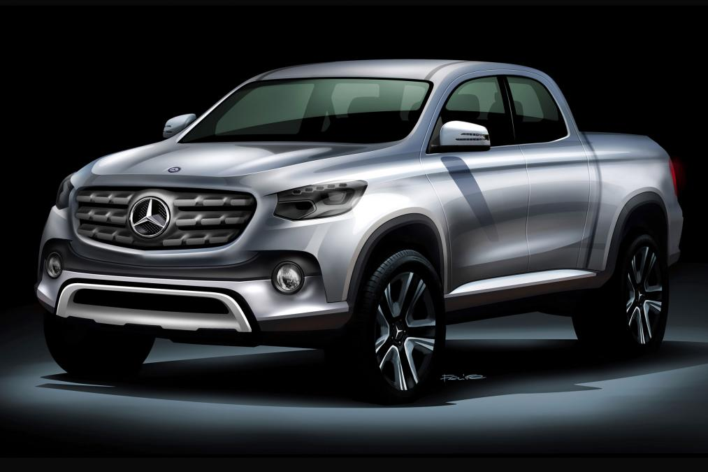 mercedes pickup announced